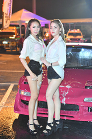 BKK Accessories motor Show 'Sexy Car Wash':2016年4月