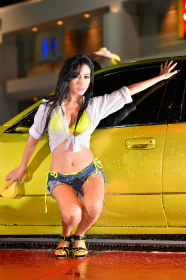BKK Auto salon 'Sexy car wash':2013年6月
