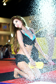 BKK Auto Salon 'Sexy Car Wash':2015年6月
