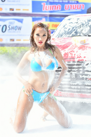 BKK Fast Auto Show 'Sexy Car Wash':Jul, 2015