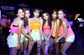 BKK Full moon party:2014年3月
