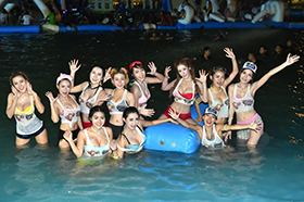 BKK Jungle Water Park 'Songkran Festival':2016年4月