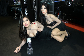 BKK Motor expo 'Karshine':Dec, 2013
