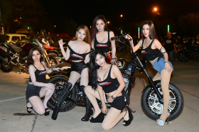 Pathumthani Bike Week #1:2016年1月
